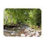 Oak Creek II in Sedona Arizona Nature Photography Rectangular Photo Magnet