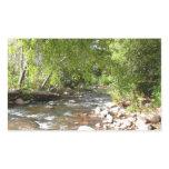 Oak Creek II in Sedona Arizona Nature Photography Rectangular Sticker