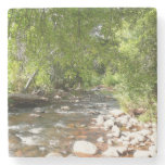 Oak Creek II in Sedona Arizona Nature Photography Stone Coaster