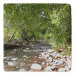 Oak Creek II in Sedona Arizona Nature Photography Trivet