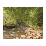 Oak Creek II in Sedona Arizona Nature Photography Wood Print