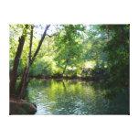 Oak Creek, Sedona Canvas Print