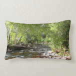 Oak Creek, Sedona Nature Landscape Lumbar Pillow