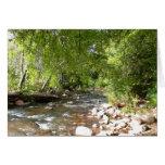 Oak Creek, Sedona Nature Photography Note Card