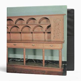 Oak Dresser Binder
