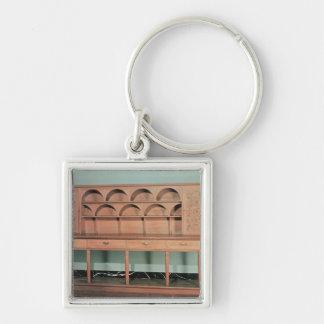 Oak Dresser Keychain