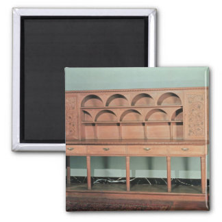 Oak Dresser Magnet