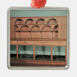 Oak Dresser Metal Ornament