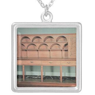Oak Dresser Silver Plated Necklace