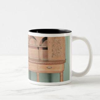 Oak Dresser Two-Tone Coffee Mug