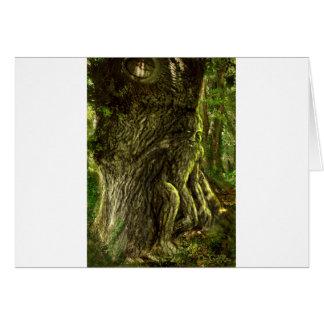 Oak Father Card