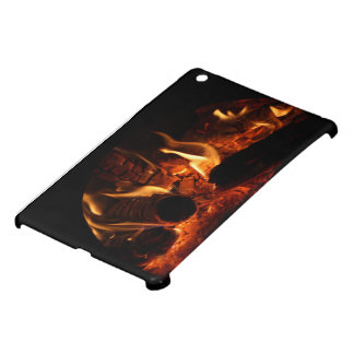 Oak Flames in Chimenea photo iPad Mini Cover