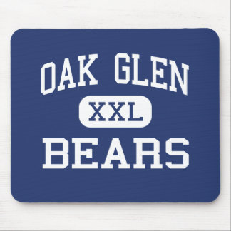 Oak Glen Bears Middle Chester West Virginia Mouse Pad