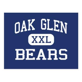 Oak Glen Bears Middle Chester West Virginia Postcard