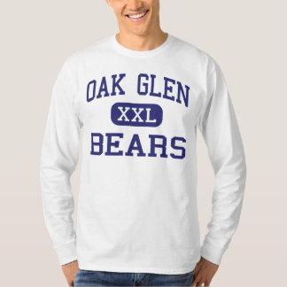 Oak Glen Bears Middle Chester West Virginia Tee Shirt