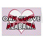 Oak Grove, Alabama Greeting Card