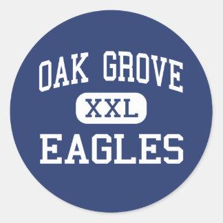 Oak Grove - Eagles - High - San Jose California Stickers