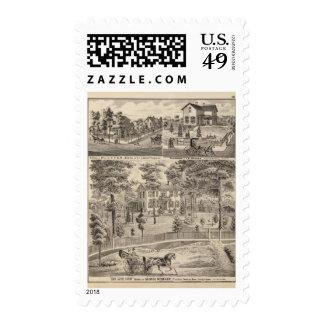 Oak Grove Farm residence of George Nebeker Postage Stamp
