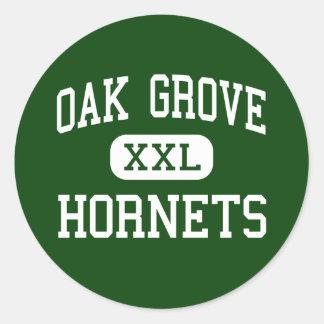 Oak Grove - Hornets - Middle - North Little Rock Round Sticker