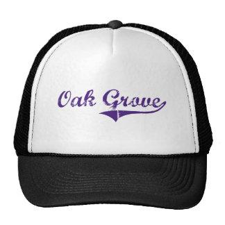Oak Grove Louisiana Classic Design Trucker Hat