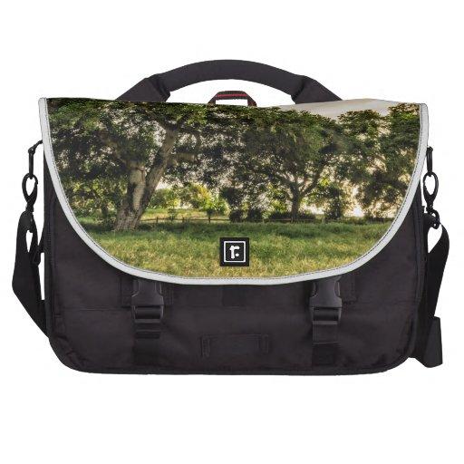 Oak Grove Sunset Laptop Bag