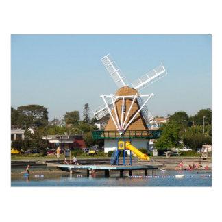 Oak Harbor City Beach Postcard