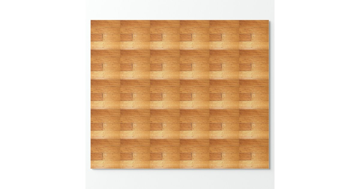 Hardwood Paper Rolls ~ Oak hardwood floor wrapping paper zazzle