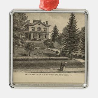 Oak Hill Fauntleroy residence Metal Ornament