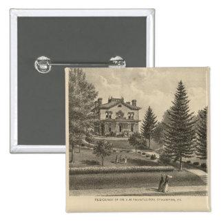 Oak Hill Fauntleroy residence Pinback Button