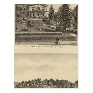Oak Hill Fauntleroy residence Postcard