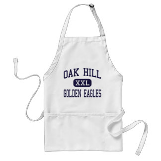 Oak Hill - Golden Eagles - High - Converse Indiana Adult Apron
