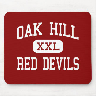 Oak Hill - Red Devils - High - Oak Hill Mouse Pad