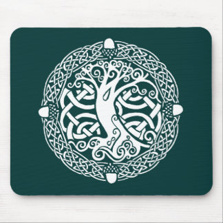 Oak in Snow Mouse Pad