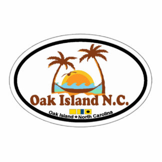 Oak Island. Cutout