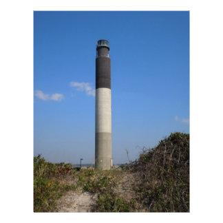 Oak Island Lighthouse Custom Flyer
