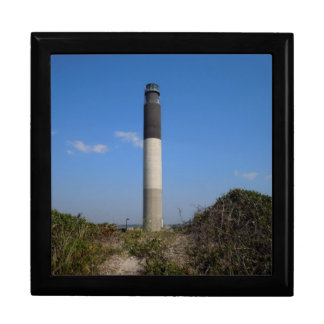 Oak Island Lighthouse Jewelry Box