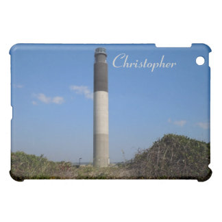 Oak Island Lighthouse - NC Cover For The iPad Mini