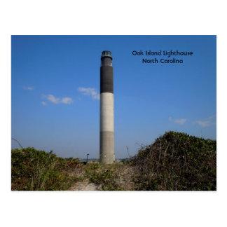 Oak Island Lighthouse, North Carolina Postcard