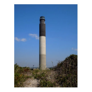 Oak Island Lighthouse Postcard