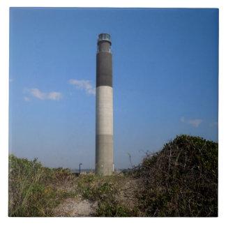 Oak Island Lighthouse Tile