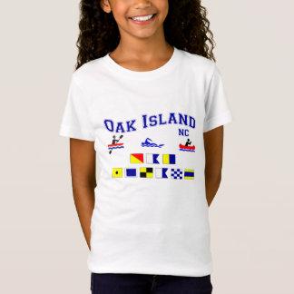 OAK ISLAND NC SIG F LAG T-Shirt