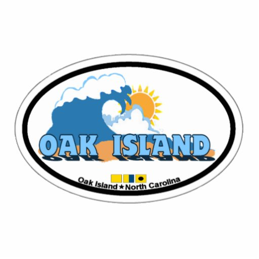 Oak Island. Photo Cut Outs