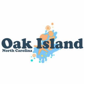 Oak Island. Photo Sculpture Button