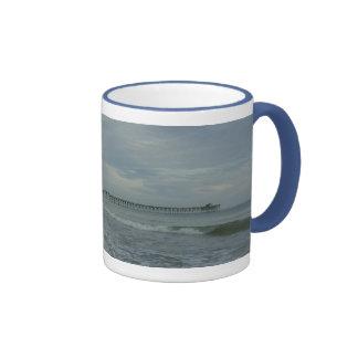 Oak Island Pier Mug