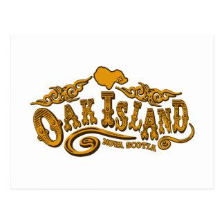 Oak Island Saloon Postcard