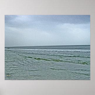 Oak Island Seashore Poster