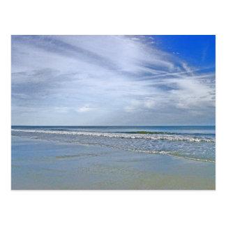 Oak Island Seashores of North Carolina Postcard