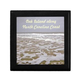 Oak Island Shores Along North Carolina Jewelry Boxes
