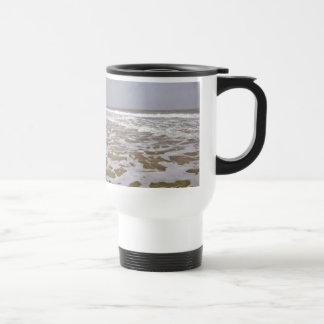 Oak Island Shores Along North Carolina Mugs