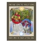 Oak King & Holly King Postcards